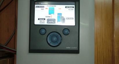 Instalación solar fotovoltáica aislada de Red, mediante inversor de 5K