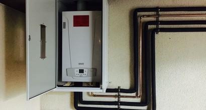 Calefacción con radiadores ROCA en 2 plantas