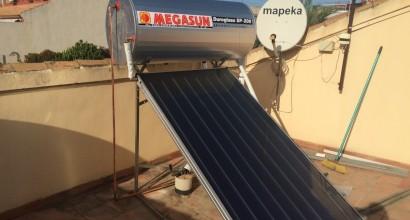 Instalación Solar Termosifón 200 litros