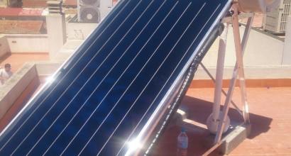 Instalación Solar Termosifón JUNKERS de 200 litros