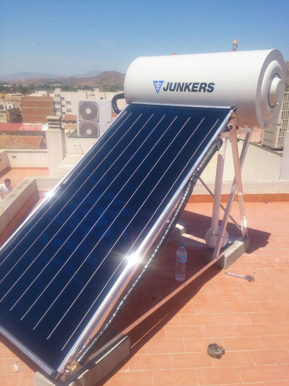 instalaci n solar termosif n junkers de 200 litros