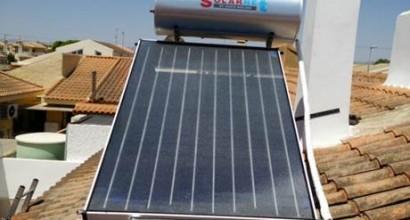 Instalación Solar Termosifón ACS 200 litros