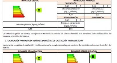 Certificación energética en viviendas
