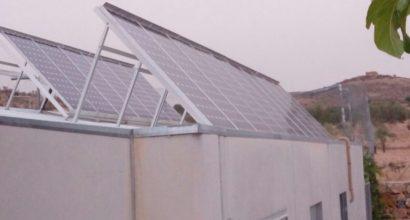 Instalación Solar Fotovoltaica, 12 paneles monocristalinos