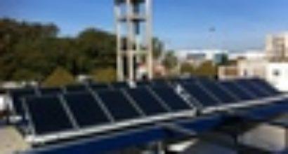 Instalación Solar Termica para un lavadero