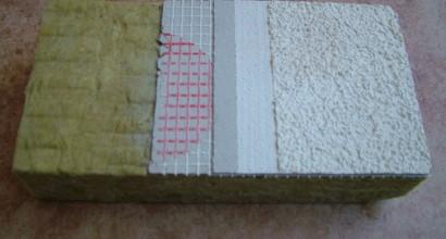Sistema de Aislamiento Térmico Exterior, deplanchas de lana de roca, con acabado acrílico