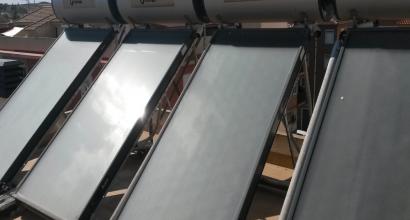 Mantenimiento y Revisión de Solar Térmica edificio 16 viviendas Termosifón