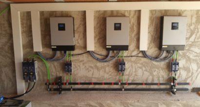 Instalación Solar Fotovoltaica Aislada de 60kWh