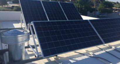 Instalación Solar Fotovoltaica Aislada para vivienda unifamiliar