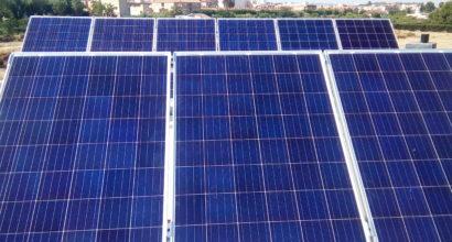 Instalación Solar Fotovoltaica Aislada para vivienda unifamiliar de 9 paneles 260W