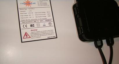 2Instalaciones aisladas fotovoltaicas de210Wp, y 1,38kW de autonomía,
