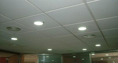 """Sustitución de 24 luminarias tipo """"Downlight"""" fluorescente"""