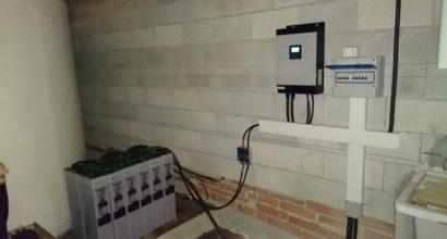 Instalación Solar Fotovoltaica de Autoconsumo con baterías TOPzS de alto rendimiento