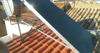 Solar Térmica ACS Termosifón 200 litros Novelda
