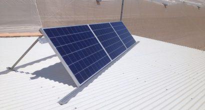 Solar Fotovoltáica Aislada de 750Wp , 3kVA y 6kWh GEL