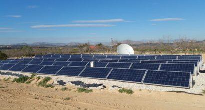 Instalación Solar Fotovoltaica Aislada 21kWn trifásica SCHNEIDER con grupo auxiliar de apoyo