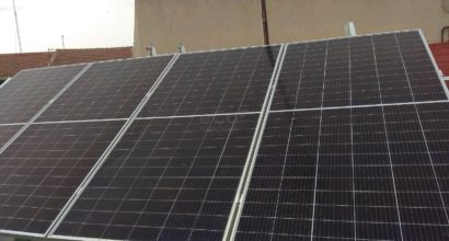 Instalación Solar residencial conectada a la red eléctrica