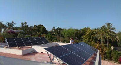 Instalación Fotovoltaica residencial  de Autoconsumo directo