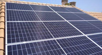 Instalación solar fotovoltaica conectada a red  con inversor Fronius