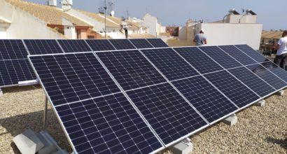 Instalación de Autoconsumo con compensación con paneles Trina Solar e inversor Huawei