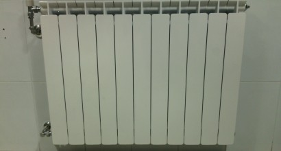Calefacción con radiadores ROCA en vivienda de 110m