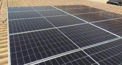 Instalación fotovoltaica en residencia para aplicación de autoconsumo