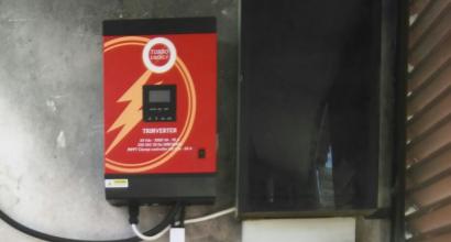 Solar Fotovoltáica Aislada de Red de 3kVA y 6 kWh baterías AGM sin mantenimiento