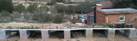 Instalación Solar Fotovoltaica Aislada con sistema de monitorización online