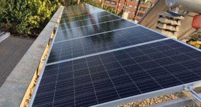 Instalación Solar Fotovoltaica Conectada a Red con Vertido 0