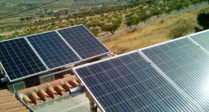 Instalación Solar Fotovoltaica totalmente Aislada de 6 paneles 250W