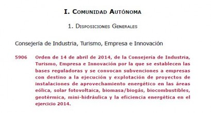 Gestión de Subvención para instalaciones fotovoltaicas aisladas, con servicio integral