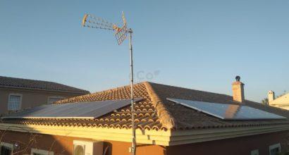 Instalación Solar Fotovoltaica HUAWEI 5.000W Híbrido