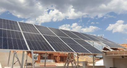 Instalación Solar FV para aplicación de autoconsumo residencial