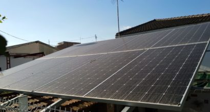 Instalación Solar conectada a la red eléctrica