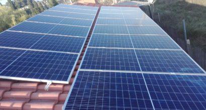 Instalación Fotovoltaica con conexión a red en vivienda habitual