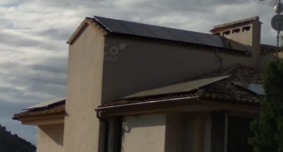 Instalación Solar de conexión a la red Híbrida