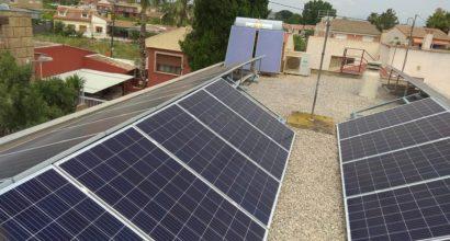 Ampliación de paneles solares e inversor en instalación fotovoltaica