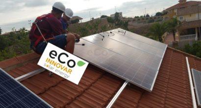 Instalación Solar Fotovoltaica Conectada a Red vivienda unifamiliar