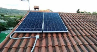 Instalación Fotovoltaica para aplicación aislada en vivienda ocasional
