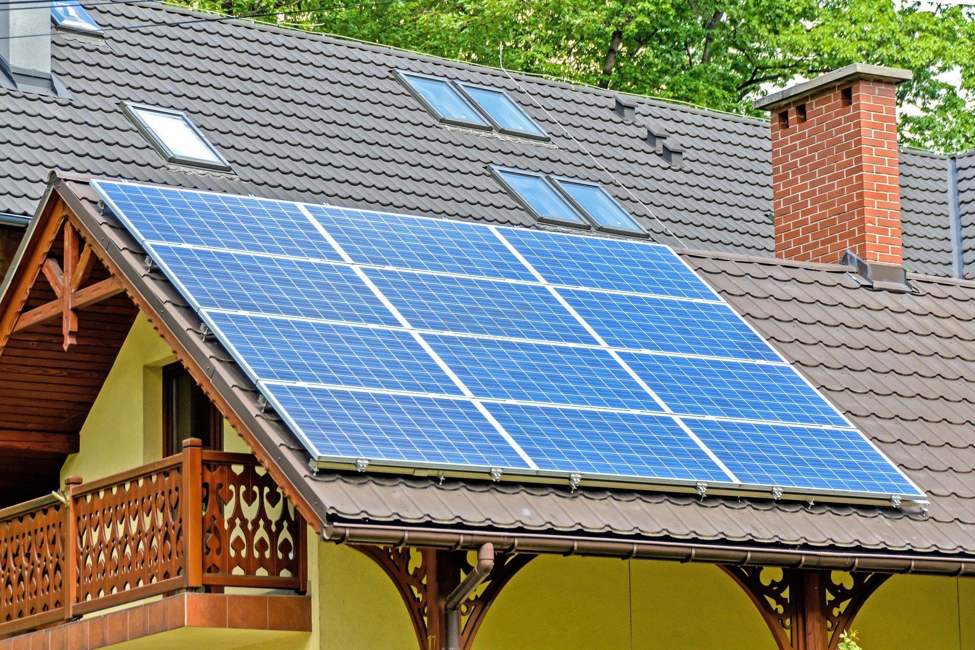 instalación de placas solares para una vivienda